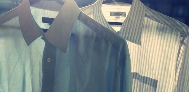 ワイシャツの襟袖の黄ばみを10分で落とす方法